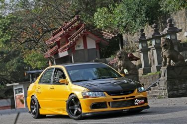 計程車哪有這麼帥的!?(上)  Mitsubishi Lancer EVO VII CT9A !