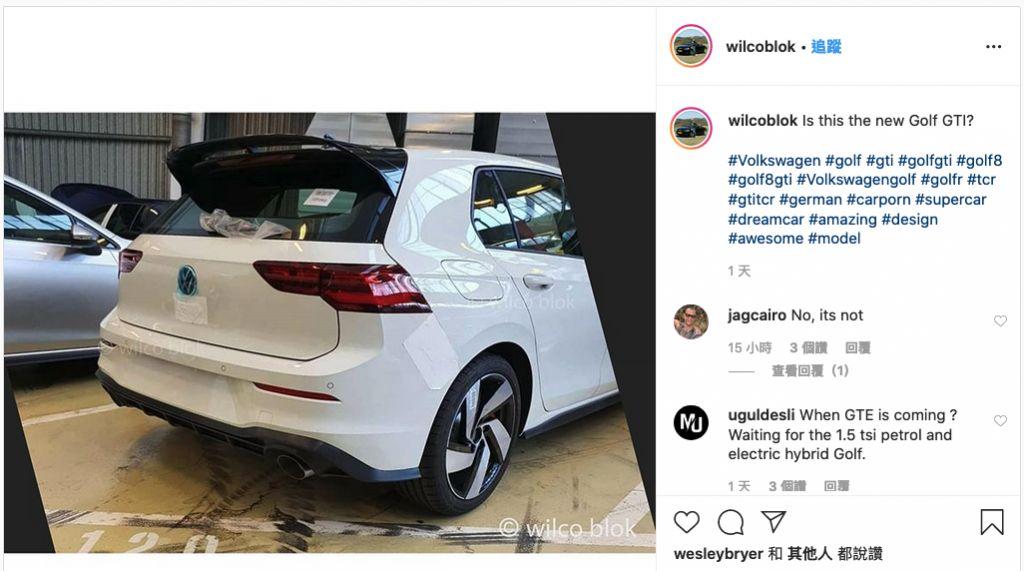 它就是2020 VW Golf GTI?尾翼變大了!