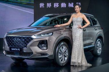 [2020台北車展必看精選] 優雅山土匪  Hyundai Santa Fe (同場演出:Kona Electric/Hybrid、Palisade) !