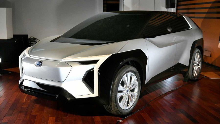 踏入電動動力?Subaru展出新的跨界休旅概念車