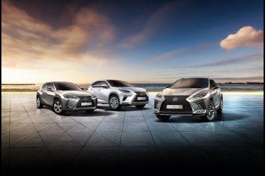 LEXUS 1月掛牌達2,687台, 強勢奪下豪華車品牌冠軍王座 !