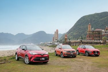 就是任性  Toyota C-HR vs. VW T-Cross vs. Hyundai Kona (上) !