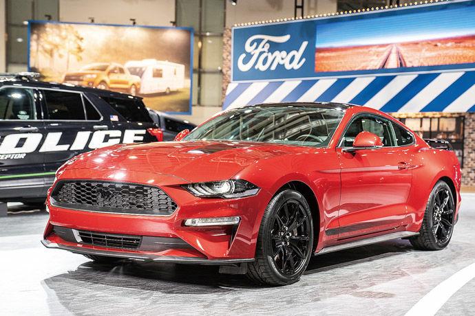 奔騰野馬 黑潮來襲    Ford Mustang Black Shadow Edition