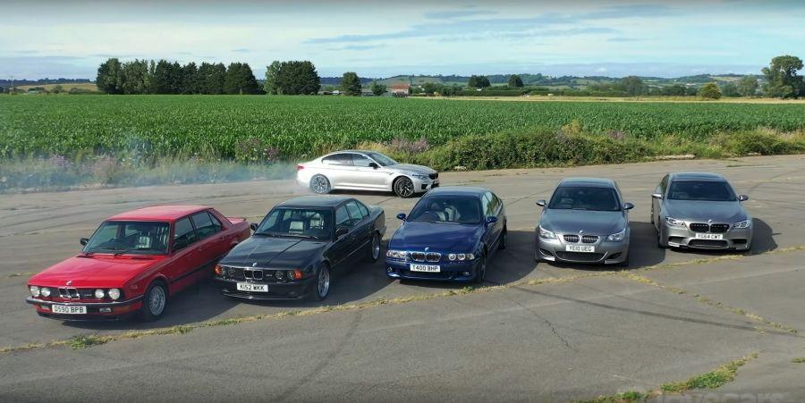 影/哪一代BMW M5是你的最愛?四驅還是後驅?