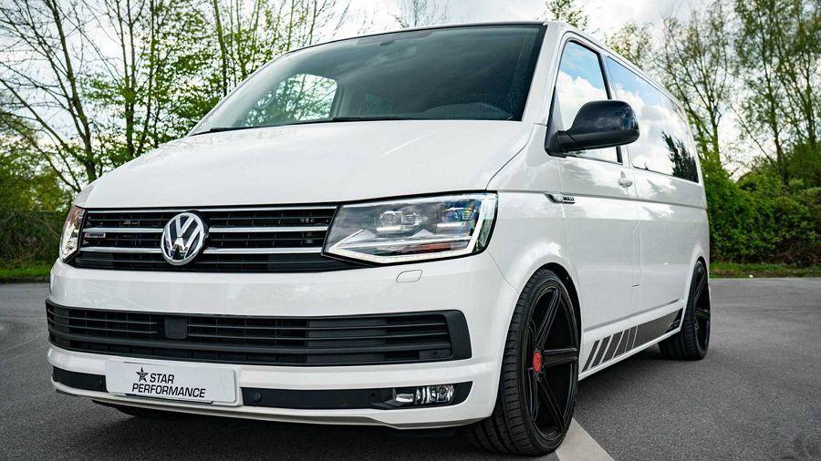 想不到吧!Volkswagen Transporter改裝後竟有著300+HP的動力輸出