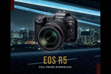 Canon 預告全力開發新一代全片幅無反光鏡單眼EOS R5與多款RF鏡頭  全力強化EOS R系統之陣容 !