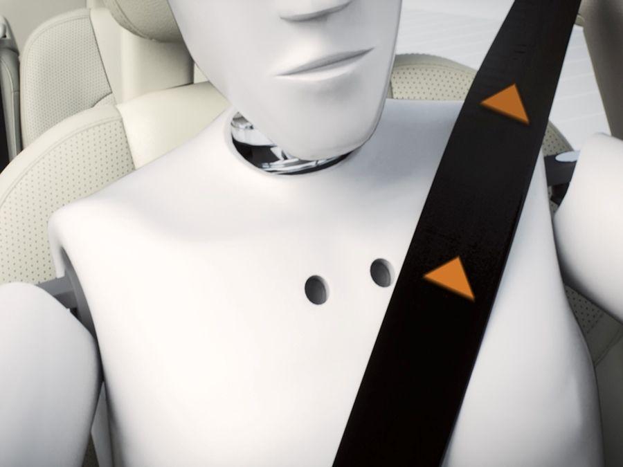 再多的先進安全配備 沒繫安全帶也沒用!