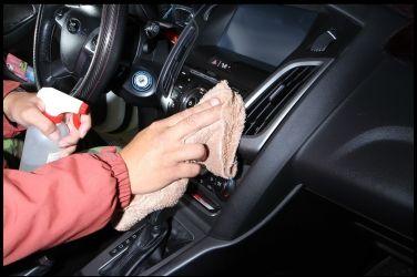 車內消毒大作戰(上)   減少車內細菌孳生 !