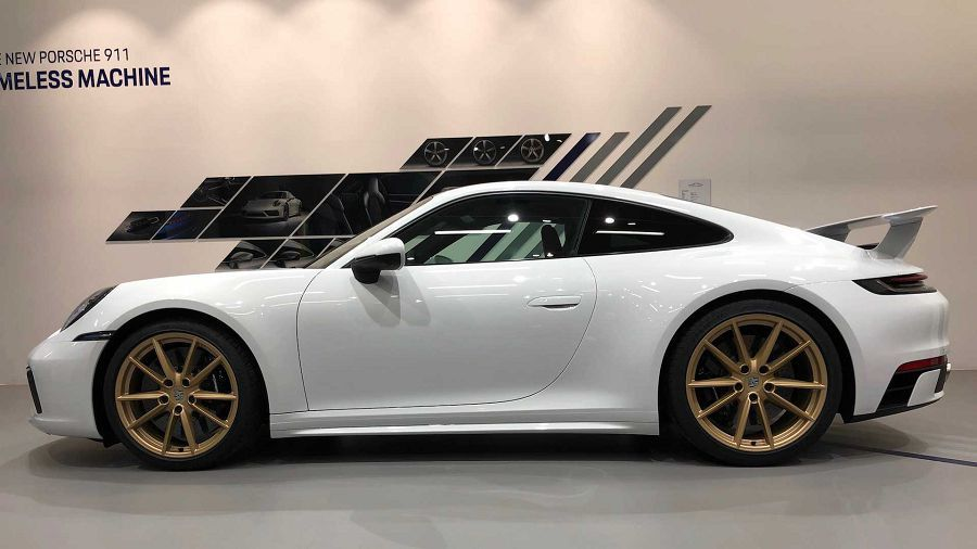 Porsche客製化部門替911推出更流線更有型的空力套件組