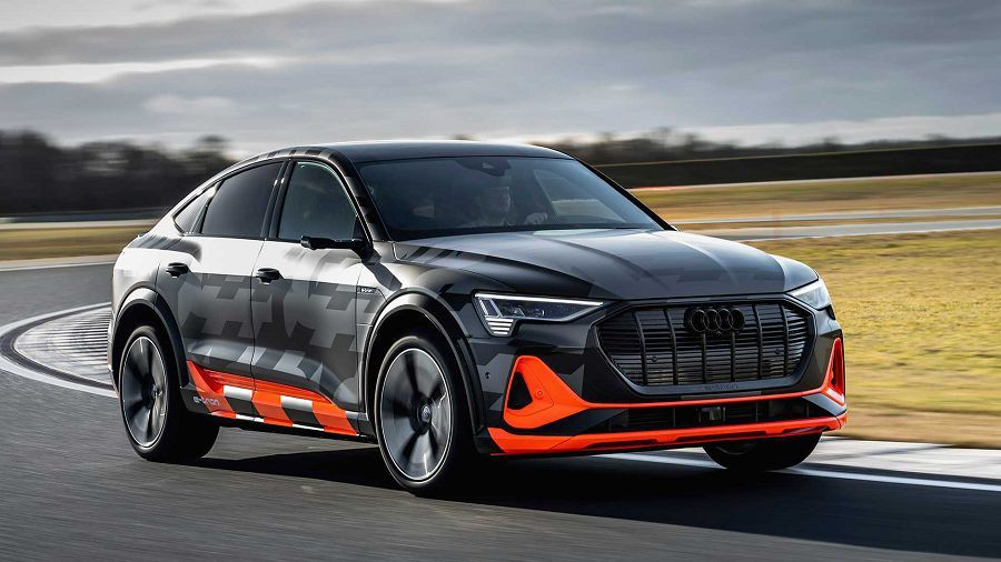 最大可輸出496HP的動力!Audi E-Tron S電動跨界車登場!