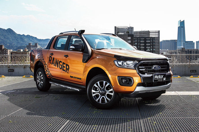 柔情硬漢    Ford Ranger Wildtrak旗艦型