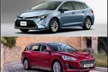 喊燒是否也叫座?車迷最期待的進口中型旅行車(上)  Ford Focus Wagon & Toyota Corolla Touring Sports !