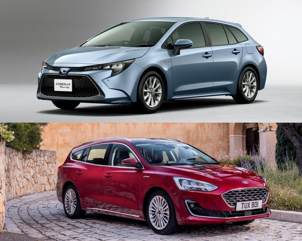 喊燒是否也叫座?車迷最期待的進口中型旅行車 Ford Focus Wagon & Toyota Corolla Touring Sports !