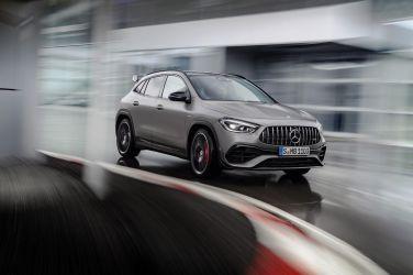 2020日內瓦車展 — 預定最速小休旅 Mercedes-AMG GLA 45 S 4Matic