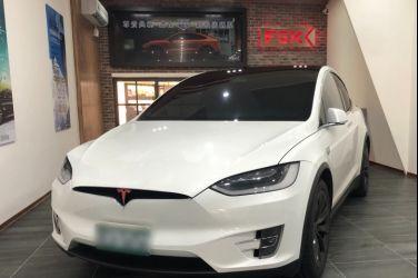 Tesla Model X 全車FSK冰鑽K-Top 施工流程