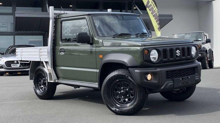 Suzuki Jimny皮卡開賣了!約70萬還有原廠保固!