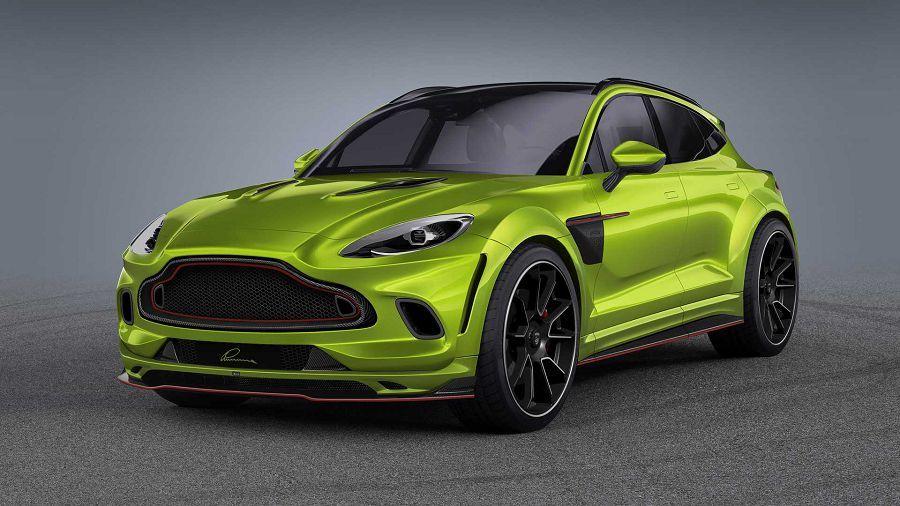 Lumma Design賦予Aston Martin DBX成堆的碳纖維!