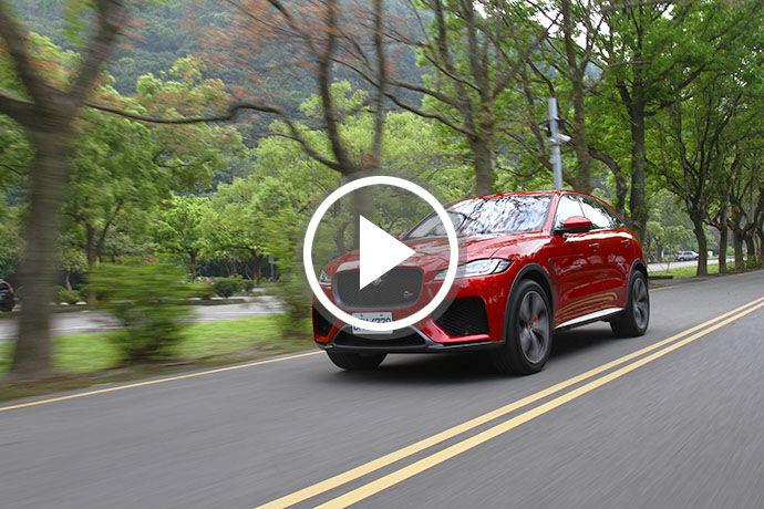 英屬性能擔當 Jaguar F-Pace SVR