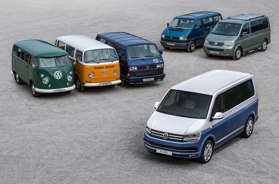 逾70年最成功商用車 福斯商旅T系列締造1,300萬輛銷售里程碑