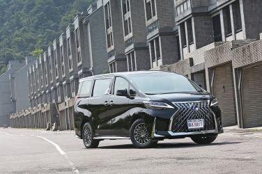 移動行宮 Lexus LM300h四人座(上)