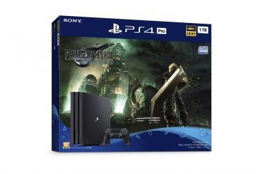 PlayStation®4 Pro  「FINAL FANTASY VII REMAKE Pack」  2020年4月10日(五)起在台限量發售