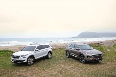5+2 SUV硬實力對決 Hyundai Santa Fe VS. Skoda Kodiaq(上)