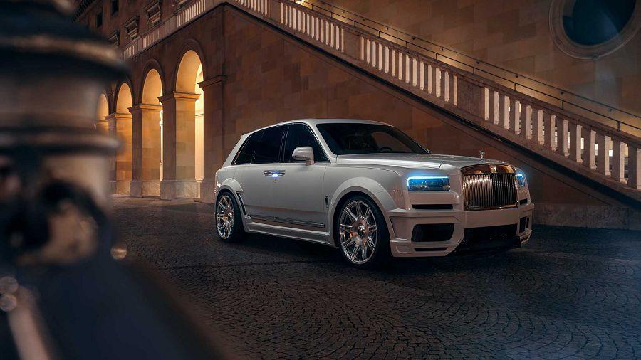 Spofec使Rolls-Royce Cullinan變成運動系豪華休旅車