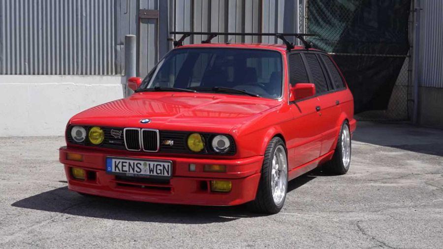 火力強大!BMW 316 Touring已變身成470HP的性能猛獸