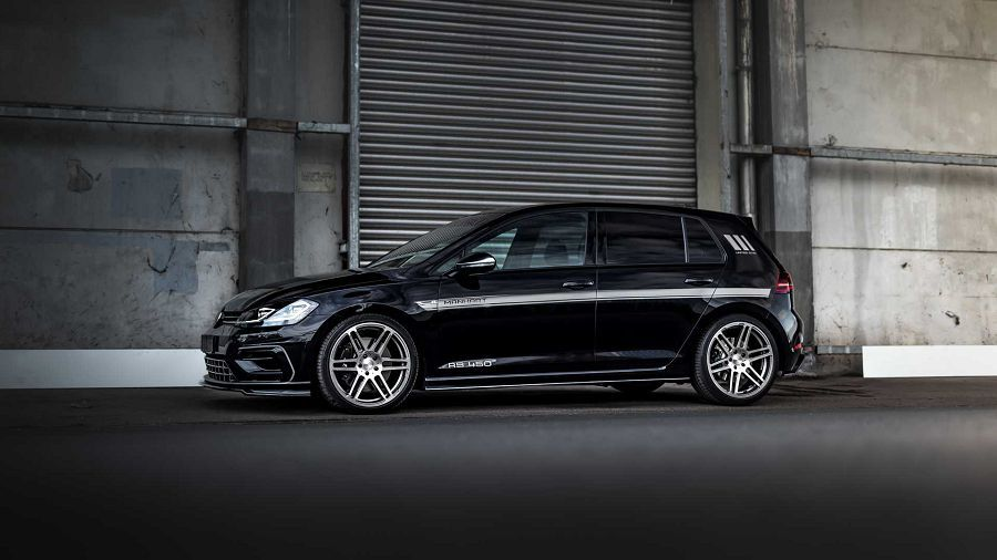 Manhart賦予VW Golf R更大的動力來維持性能王座