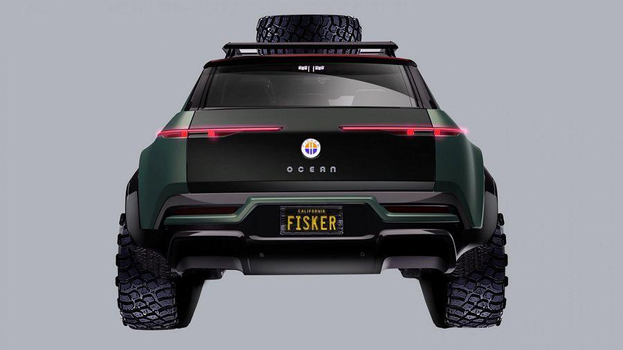 Fisker替Ocean電動休旅車設計了越野套組