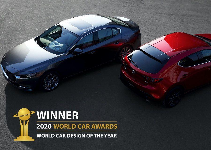 日式美學藝品 MAZDA3榮獲2020世界年度設計風雲車