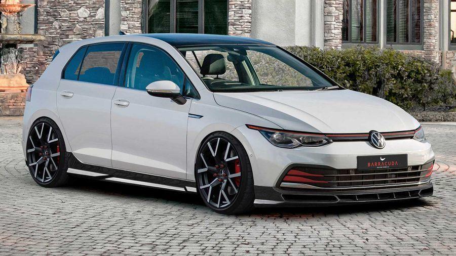 原廠的2020 VW Golf GTI在JMS的改裝作品面前反而顯得溫和許多