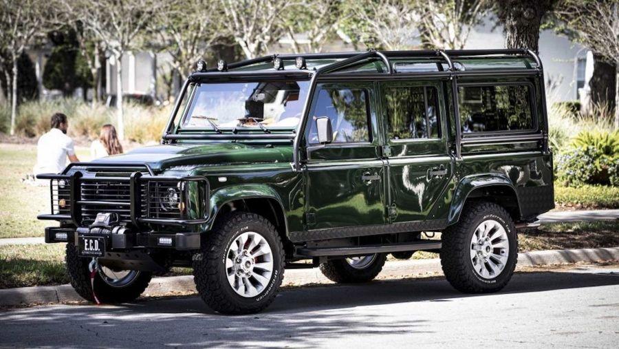 這輛Land Rover Defender聲浪很美式~