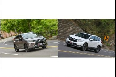 日系1.5L渦輪SUV選購指南 MITSUBISHI ECLIPSE CROSS VS. HONDA CR-V(上)