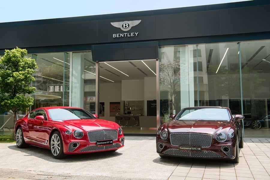 BENTLEY CONTINENTAL GT V8/V8 CONVERTIBLE 正式抵台