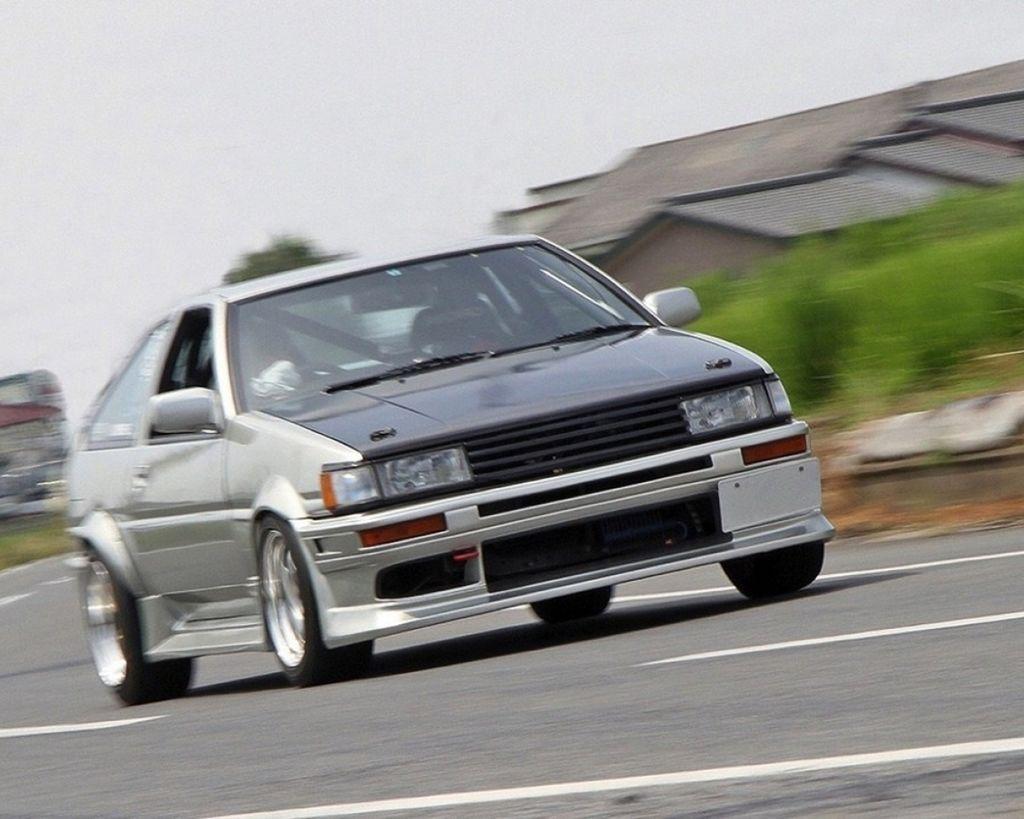 排氣量提昇強化中低扭力 AE86輕量化車身更暴力
