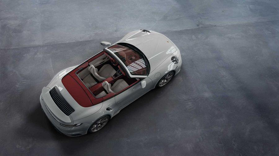 Porsche Exclusive Manufaktur針對911推出極具質感的雙色內裝設計