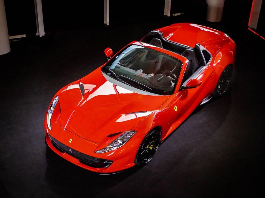 睽違50年的V12敞篷鉅作 Ferrari 812 GTS重磅襲臺