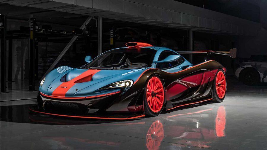 McLaren P1 GTR換裝海灣石油彩繪主題後居然如此華麗