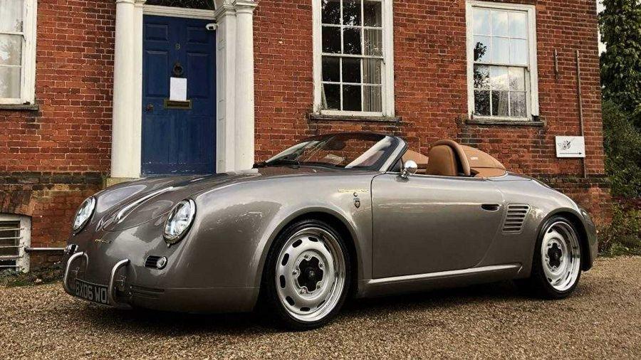 Porsche Boxster搖身一變成了優雅的356 Speedster?