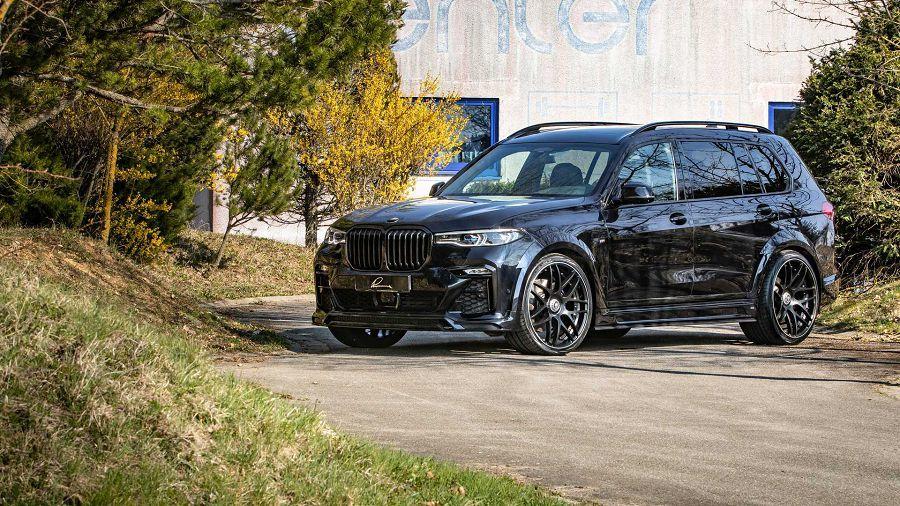 裝上Lumma Design的寬體套件,BMW X7可成為殺氣騰騰的SUV
