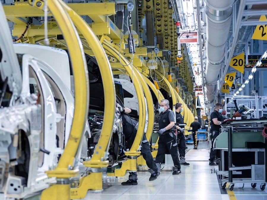 好消息:M.Benz逐步重啟全球產線