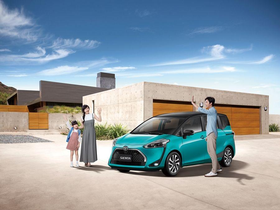熱銷超過5萬輛!Toyota Sienta追加雙色新款車型!