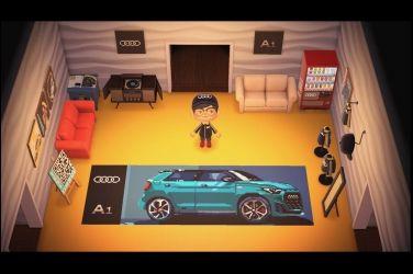 台灣奧迪推出線上虛擬展間《Audi A1 Sportback動森賞車會》‧ 線上直播 5/16(六)晚上8點15分開始!