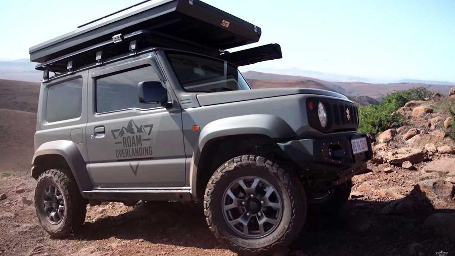 車主評價Suzuki Jimny執行越野露營活動的優缺點!