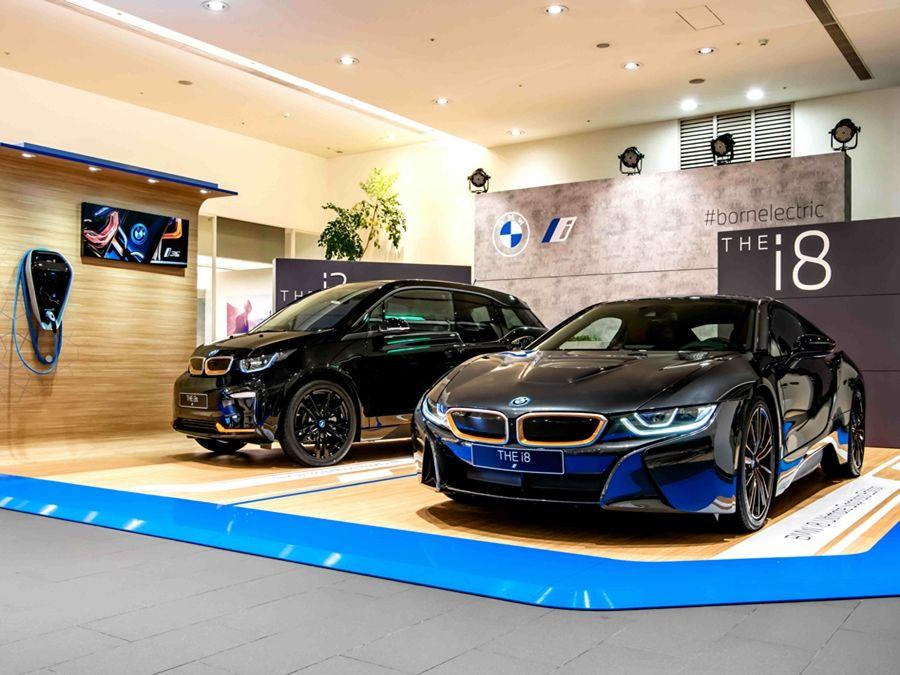 全球限量特仕版BMW i3s / BMW i8電能未來巡迴展