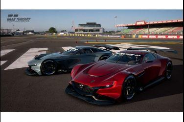 轉子引擎華麗再現 飆速奔馳線上賽道 MAZDA RX-VISION GT3概念跑車重磅登場