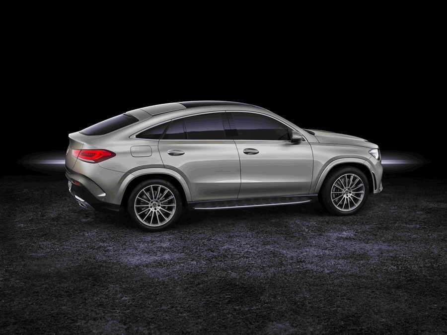 The new Mercedes-Benz GLE Coupé 現正開放接單