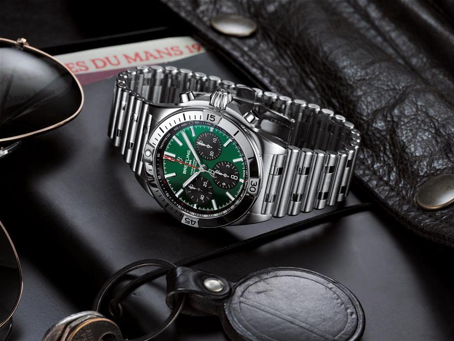 賓利/百年靈發表全新Chronomat系列機械計時腕錶