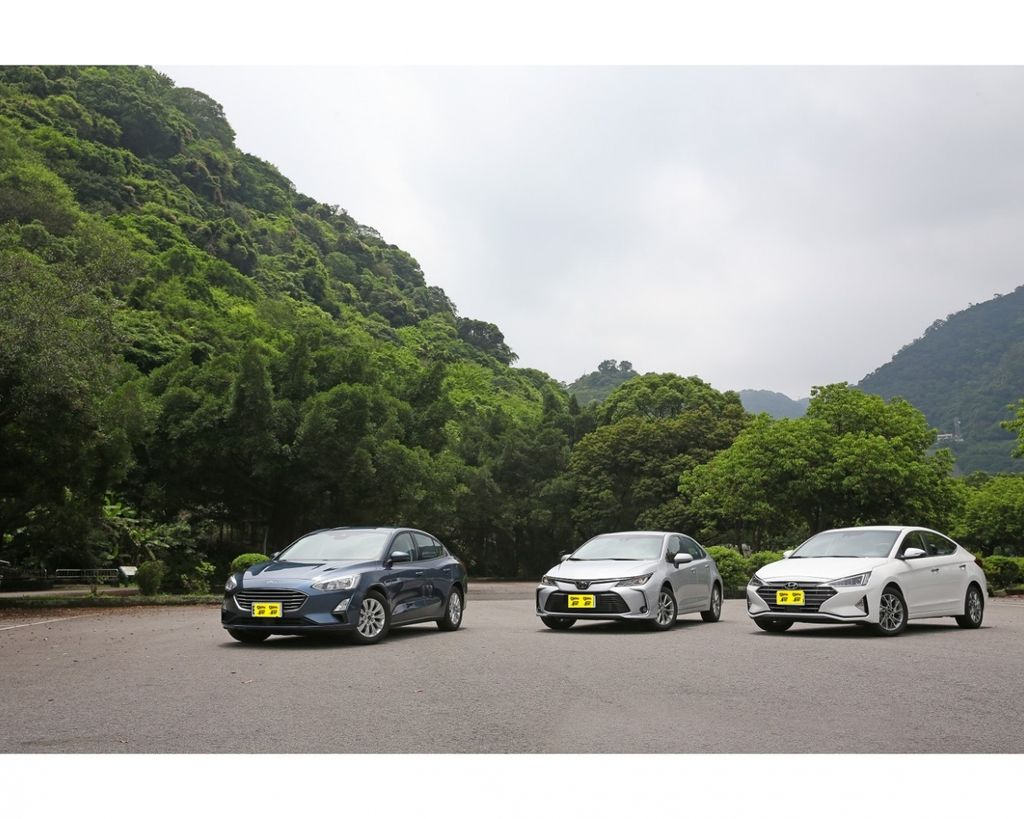 70萬級距中型房車誰最強?(上)Ford Focus 4D vs. Hyundai Elantra vs. Toyota Corolla Altis